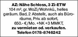 3-Zimmer Mietwohnung in Alzey (55232)