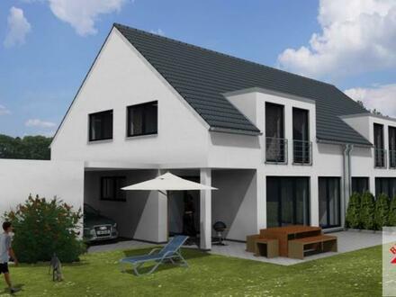 Herzlich willkommen in dieser tollen Neubau-Doppelhaushälfte!