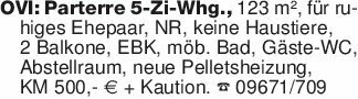 OVI: Parterre 5-Zi-Whg., 123 m...