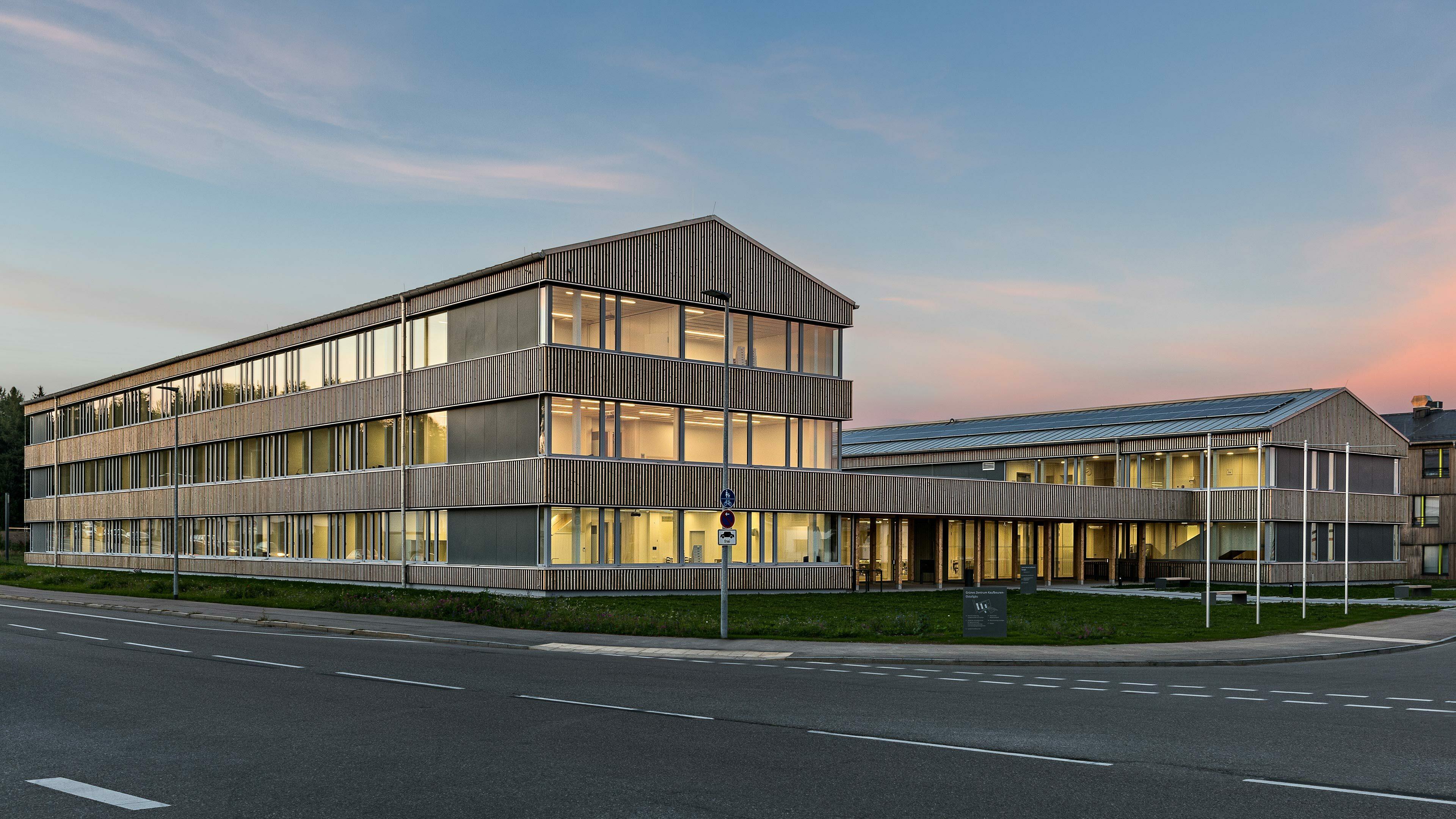 Grünes Zentrum Holzbau_krall-photographie