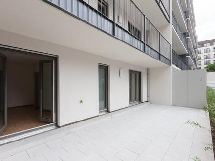Westhafen: Familienfreundliche Wohnung mit Loggia und großzügiger Terrasse