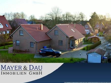 Greetsiel: Neuwertiges Ferienhaus am Deich! Obj.-Nr.4123