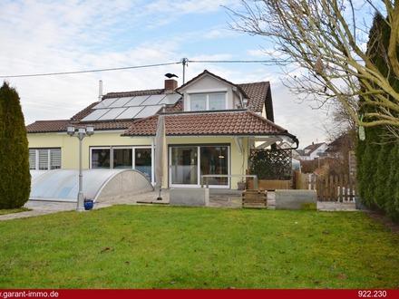Hier wird Ihr Wohntraum wahr! Einfamilienhaus mit Pool vor den Toren von Aulendorf!