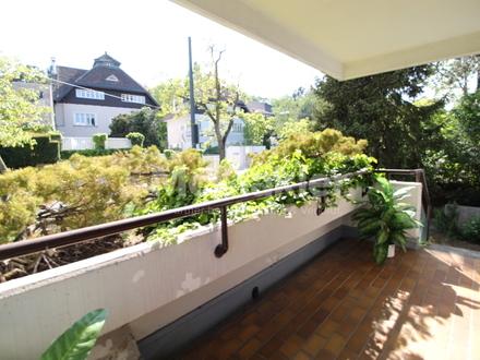 GRINZING: Großzügige ETAGENWOHNUNG mit Südterrasse, Garten und Garagenplatz!