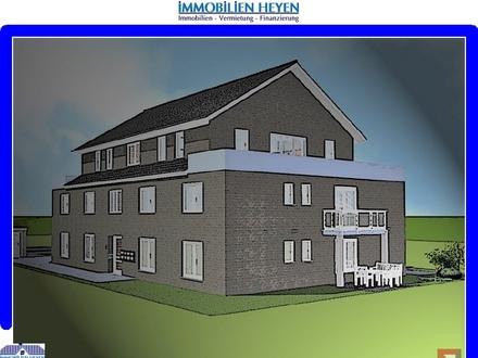 !!!Neubau-Erdgeschoss-Eigentumswohnung (KfW55) in ruhiger und zentraler Wohnlage von Papenburg!!!