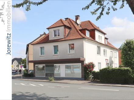 KEINE KÄUFERPROVISION: Schildesche - Mehrfamilienhaus mit sechs Wohnungen und einem Ladenlokal