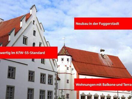 Neubauwohnungen in der Fuggerstadt
