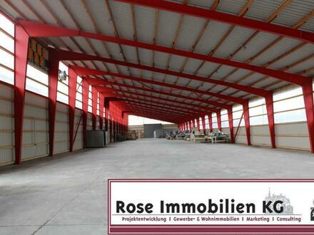 ROSE IMMOBILIEN KG: helles Kaltlager direkt an der B 482, Petershagen
