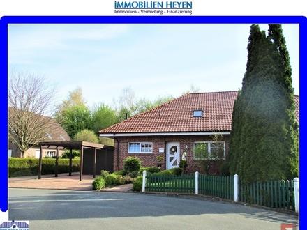 !!!Walmdachbungalow-Haushälfte in ruhiger Sackgassenlage in Aschendorf/Ems!!!