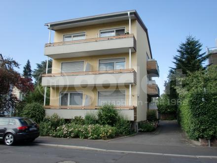 komplett möbliertes 1-Zimmer-Apartment mit Pantryküche und Süd-Balkon!
