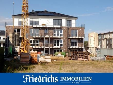Neubau-Komfort-Obergeschosswohnung mit Balkon in Westerstede / unmittelbare Nähe zur Fußgängerzone