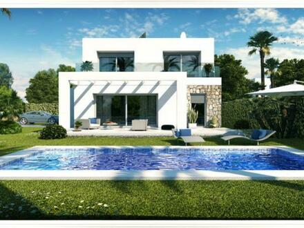 Dalt de Sa Rapita – Neubau-Villen mit 3 SZ mit optionalen Pool