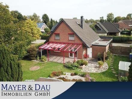 Oldenburg: Schönes Einfamilienhaus mit tollem Garten, Obj. 4421
