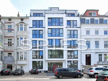 Neubau/Erstbezug: Moderne, großzügig geschnittene 2-Zimmer-Whg. mit Terrasse