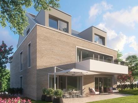 Neubau-Erstbezug: Helle Erdgeschosswohnung mit eigenem Garten in Bergen-Enkheim