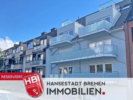 Woltmershausen / Moderne 2-Zimmer-Wohnung mit 2 schönen Balkonen