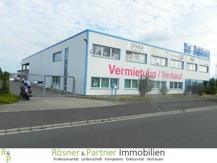 *Gewerbehalle in Paschwitz - flexibel aufteilbar - Büro - Ausstellung - Lager*
