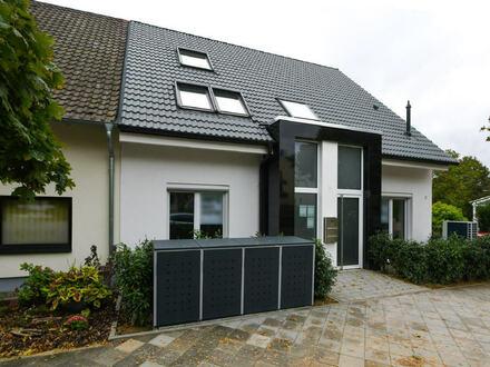 Bestlage in MA-Feudenheim: Tolle Maisonettewohnung mit unverbaubarem Blick