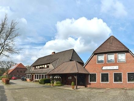 Bestens etablierter Gasthofbetrieb mit großem Saal sowie Betreiberwohnung in Wiefelstede-Nuttel