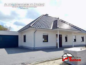 Neubau-Walmdachbungalow mit Garage in Sackgassenlage!