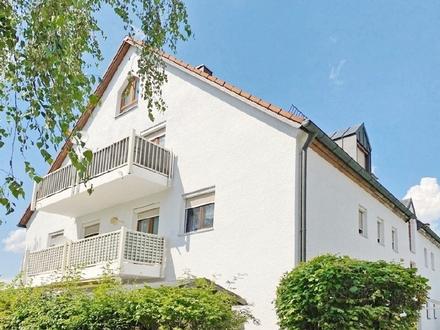 Traumhafte 4-Zi.-DG-Mais.-Whg. in Hallbergmoos mit Südwest-Balkon und eigenem Garten!