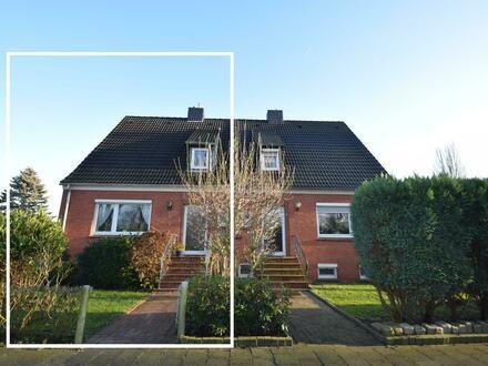 Am Borssumer Kanal gelegen! Renovierungsbedürftige Doppelhaushälfte in toller Lage von Emden (OT Borssum)