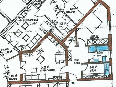 2 ZKB in Kösching, zentrale Lage