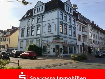 Solide Kapitalanlage - Mehrfamilienhaus mit Gewerbe in der beliebten Neustadt