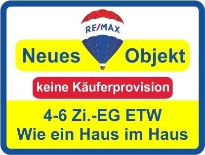 Kaufen Sie ab € 849,- mtl.* / Eine EG-ETW wie ein Haus ! 4-6 Zi. mögl.! Keine Käuferprovision!