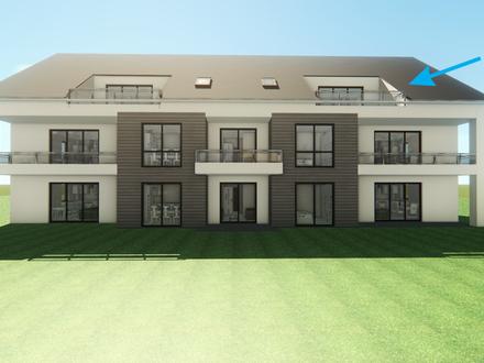 Grosszügig und mit exklusiver Ausstattung 3/4 - Zimmer - Dachgeschossmietwohnung