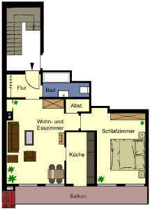 2-Zimmer-Wohnung im Zentrum von Ahaus zu vermieten!