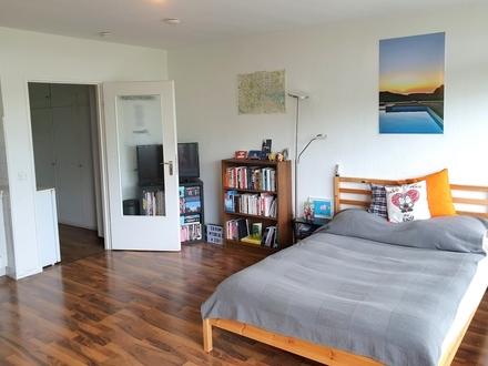 1-Zimmer-Wohnung mit Loggia und tollem Ausblick