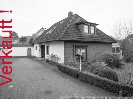 Großes Ein- bzw. Zweifamilienhaus auf 1.000 m² Grundstück in Bümmerstede