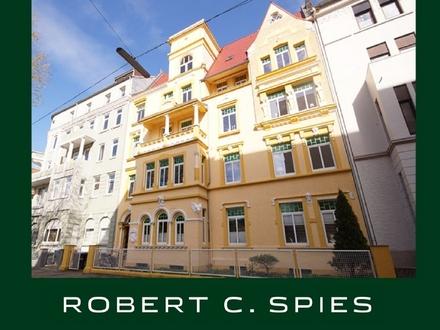 Seltenheitswert in Bremerhaven: Repräsentative Altbauwohnung im Jugendstil