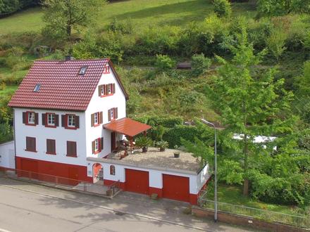 Traumhafte Neckarlage - Einfamilienhaus für Liebhaber von Natur, Baden und Bootsfreunde