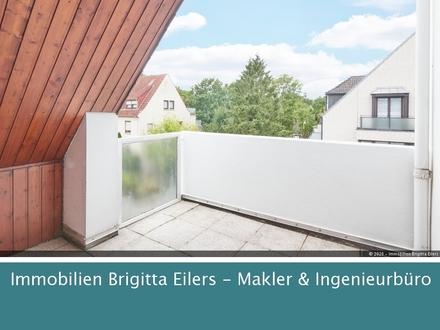 Herrliche Süd- West-Loggia in renovierter Wohnung in Bestlage Bremens!