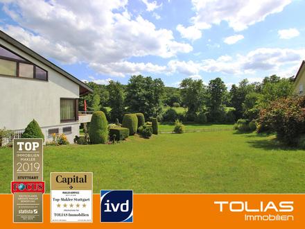 Im Grünen träumen - Attraktives Baugrundstück ca. 770 m² für EFH oder Doppelhaus am roten Berg!