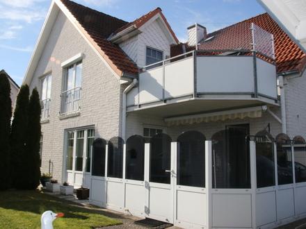Geestland-Langen: Ebenerdiges Wohnen, beste Lage, gepfl. 3-Zi.Whg, Garten+Terrasse, Bj.97, Obj. 5098