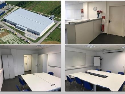 Bis zu 500 m² Bürofläche direkt an der A7/A8 Langenau.