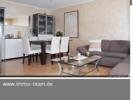 Schicke 3 Zimmer-Wohnung mit HOBBYRAUM 23 qm ++BALKON++GARAGE++STELLPLATZ++EBK++