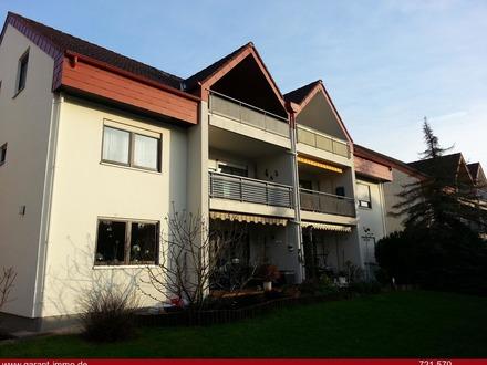 Gepflegte Maisonette-Wohnung mit Balkon und Einzelgarage als wertstabile Kapitalanlage