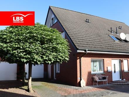 Gepflegte Doppelhaushälfte mit Garage in Rheine!