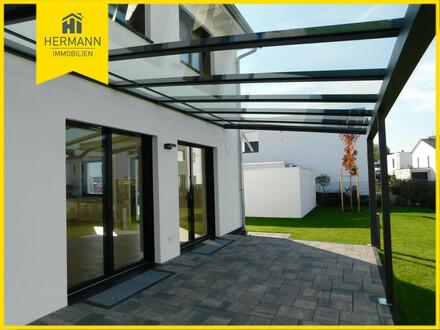 DHH links mit Terrasse und eigenem Garten - Neubau Erstbezug in Hanau