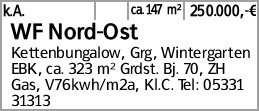 WF Nord-Ost