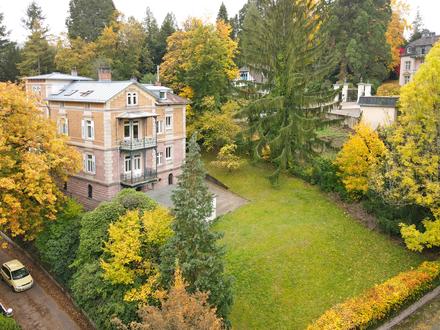 Großzügige Villa aus der Gründerzeit in herrschaftlicher Lage