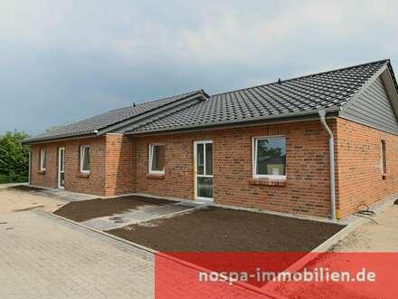 Neubau von Doppelhaushälften zu ebener Erde in ruhiger und ostseenaher Lage!