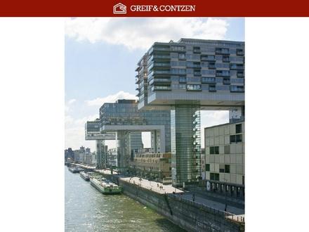 Rheinauhafen - Exklusive Wohnung mit Rheinblick