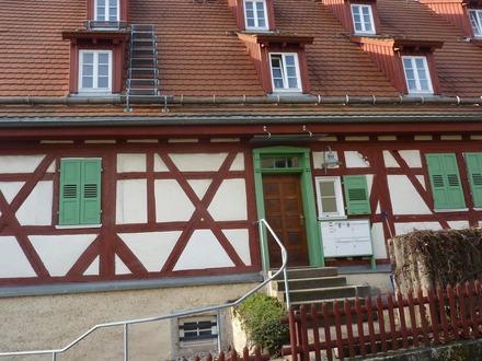 4 1/2 Zimmer-Maisonette-Wohnung in denkmalgeschütztem Fachwerkhaus