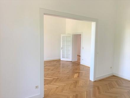 "Büroetage mit Stil: ""Zugkräftige"" Lage gegenüber Bahnhof – gepflegter Altbau – helle Räume!"
