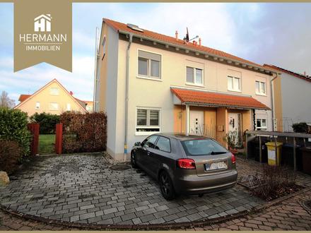 DHH in ruhiger Lage von HU-Großauheim, 380 qm Grundstück, Garage, Spielstraße